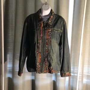 CHICO'S 100% Cotton Jean jackets NWOT